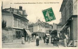Conflans Saint Honorine Rue De L'hotel De Ville - Conflans Saint Honorine
