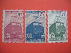 France Colis Postaux  1941 - 1945 Neuf **   N°  230 à 232 B - Colis Postaux