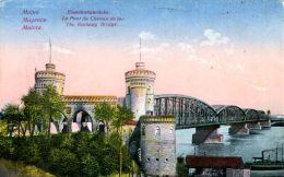 N°29956 -cpa Mainz -le Pont Du Chemin De Fer- - Mainz