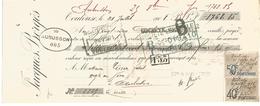 TRAITE JACQUES BERGES AUBUSSON CREUSE 1908 - France