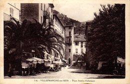 06)   VILLEFRANCHE    -   Place Amélie Pollonnais - Villefranche-sur-Mer
