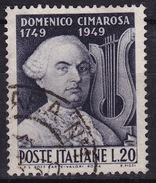 1949 MiNr. 788 Domenico Cimarosa Gestempelt (b160602) - 6. 1946-.. Republic
