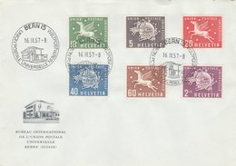 Suisse - FDC - 1957 - UPU - - FDC
