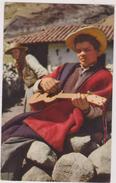 AMERIQUE,Vénézuela,1955,les Andes,ANDINO,GUITARISTE,1955 - Venezuela