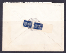 RUS 15-84  LETTER SEND FROM MOSCOW TO LAUSANNE. GOLD STANDART STAMPS IN PAIR.
