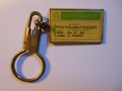 PC0238 - Porte Clé CREDIT AGRICOLE - Sleutelhangers
