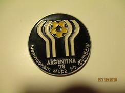 RUSSIA USSR FOOTBALL SOCCER 1978 ARGENTINA WORLD CHAMPIONSHIP  PIN BADGE , O - Fussball