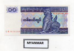 Myanmar (Birmania)  - Banconota Da 10 Kyats -  Nuova -  (FDC2400) - Myanmar