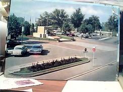 LUSSEMBURGO LUXEMBOURG  PLACE DE LA COSTITUTION AUTO CAR VB1970 FW9756 - Luxembourg - Ville