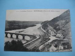 CPA La Dorgogne  Pittoresque Rouffilac Et Pont De St Julien-Lampon - France