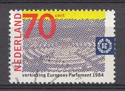 Pays-Bas 1984 Mi.nr.:1245 Zweite Direktwahlen Zum....  Oblitérés / Used / Gestempeld - Gebraucht