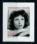 2016 -  Italia - Italy - Anna Magnani  -  Mint - MNH - 1946-.. République