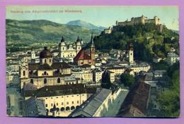 Salzburg Vom Burgerwehrsoller Am Monchsberg - Altri