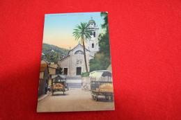Portofino La Chiesa Con Le Carrozze In Attesa Ed. Guggenheim Genova - Italia