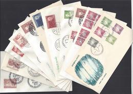 GROENLAND - 1963-83 - Joli Lot De 40 Enveloppes Premier Jour - Beaux Cachets - T.Bon Etat Général - - FDC