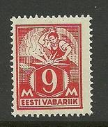 Estland Estonia 1923 Schmied Michel 38 A MNH - Estland