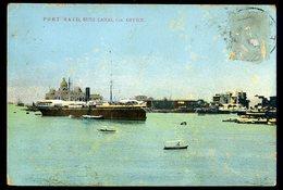 Cpa   Egypte  Port Said  -- Suez Canal Cos. Office   JIP72 - Port Said