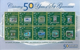 Cook 2015, 50th Of Postal History, Stamp On Stamp, Skydiving, Elicopter, Ships, Scout, Cap. Cook, Flags, UPU, Sheetlets
