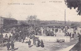 LA CLAYETTE  CHAMP De FOIRE  (plan Animé ) - France