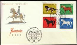 Germany Bonn 1969 / Horses - Cavalli