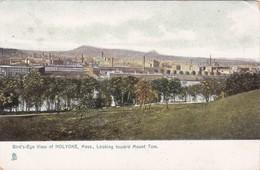 TUCK #5530; HOLYOKE, Massachusetts, 1900-10s; Bird's Eye View, Looking Toward Mount Tom - Cuba