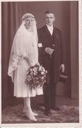 AK Foto - Brautpaar - Ca. 1920 (26397) - Hochzeiten
