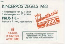 1299 / Blok Kinderzegels 1983 (100% Postfris / MNH) Met Envelop En Rebus - Period 1980-... (Beatrix)