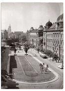 Pologne--CRACOVIE--1962--Place Matejko (autocar)  Cpsm 15 X 10 -- Timbre + Cachet - Pologne
