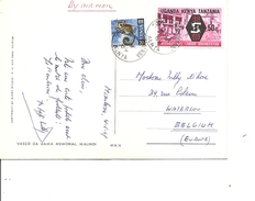 Kénya ( CP De 1969 De Mombasa Vers La Belgique à Voir) - Kenya (1963-...)