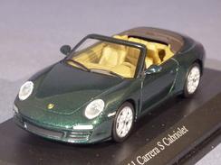 Minichamps 640066430, Porsche 911 (997) Carrera S Cabriolet, 2008, 1:64 - Voitures, Camions, Bus