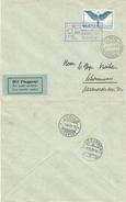 86) SVIZZERA LETTERA VIA AEREA GENEVE - SCHONENWERD 31.5.1925 MEETING INTERNATIONAL D'AVIATION - Posta Aerea