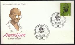 Germany Bonn 1969 / Mahatma Gandhi / Politician - Mahatma Gandhi