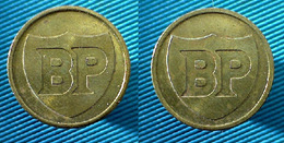 01848 GETTONE TOKEN JETON BP BRITISH PETROLEUM - Regno Unito