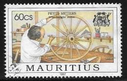 Mauritius, Scott # 851 Used Wheelright, 1997 - Mauritius (1968-...)