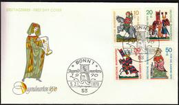 Germany Bonn 1970 / Fairy Tales / Jugendmarken - Fairy Tales, Popular Stories & Legends