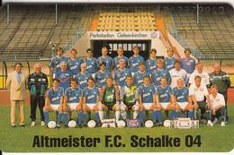 GERMANY(chip) - Altmeister FC Schalke 04(K 461), Tirage 6000, 11/92, Used - Germany