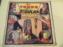NERBINI - GRANDI AVVENTURE - SERIE GORDON N.10 - LA TORRE DELLA TORTURA - 1947 - Classic (1930-50)