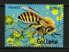 FRANCE 2016 /  YT 5052 ABEILLE COLLETE OBL. - Oblitérés
