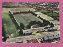 59 Nord Fourmies Le Stade Vue Aerienne ( Legers Plis Dans Le Haut De La Carte Voir Scans ) - Fourmies