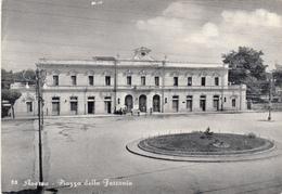 Aversa, Piazza Della Ferrovia. Cartolina Non Viaggiata Anni 60 - Aversa