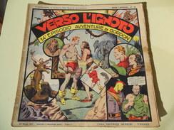 NERBINI - GRANDI AVVENTURE - SERIE GORDON N. 14 - VERSO L'IGNOTO - 1947 - Classic (1930-50)