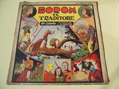 NERBINI - GRANDI AVVENTURE - SERIE GORDON N. 16 - BOROM IL TRADITORE - 1947 - Classic (1930-50)