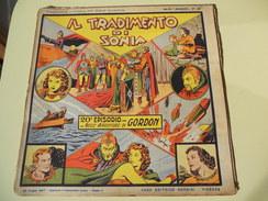 NERBINI - GRANDI AVVENTURE - SERIE GORDON N. 20 - IL TRADIMENTO DI SONIA - 1947 - Classic (1930-50)