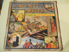 NERBINI - GRANDI AVVENTURE - SERIE GORDON N. 21 - L'ATTACCO DI ARBORIA - 1947 - Classic (1930-50)