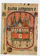 CHRISTIANITY - AK291342 Freiburg I. Br. - Augustinermuseum - Buchmalerei - Pfingstwunder - Tableaux, Vitraux Et Statues