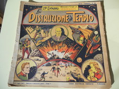 NERBINI - GRANDI AVVENTURE - SERIE GORDON N. 23 - LA DISTRUZIONE DEL TEMPIO - 1947 - Classic (1930-50)