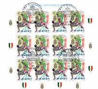 ITALIA REPUBBLICA 2002  JUVENTUS CAMPIONE  BF  Annullo 1° Giorno - 1946-.. République