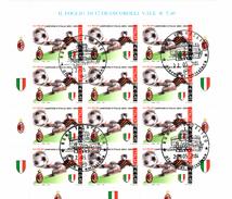 ITALIA REPUBBLICA 2004  MILAN CAMPIONE  BF  Annullo 1° Giorno - 6. 1946-.. Repubblica