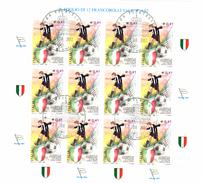 ITALIA REPUBBLICA 2003  JUVENTUS CAMPIONE  BF  Annullo 1° Giorno - 1946-.. République