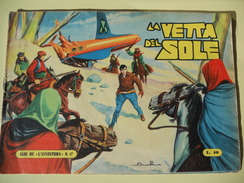 CAPRIOTTI - ALBI DE L'AVVENTURA - RAFF VENTURA N. 17 - LA VETTA DEL SOLE -1955 - Klassiekers 1930-50